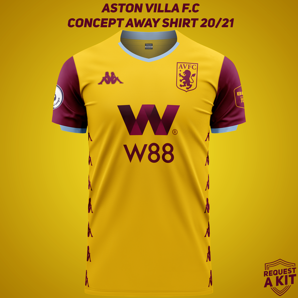 Aston Villa Concept Kits: most talked about designs - Fan ...
