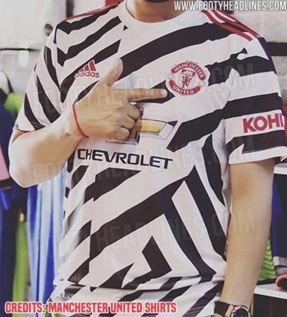 Man Utd S New Zebra Third Kit Leaked It S So Very Bad Fan Banter