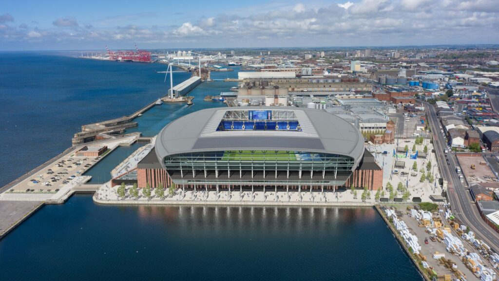 Everton unveil new images of their new stadium - Fan Banter